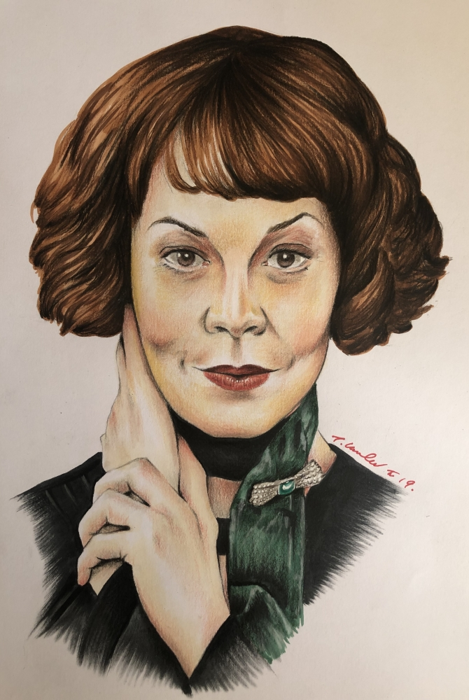 Helen McCrory by TraceyLawler